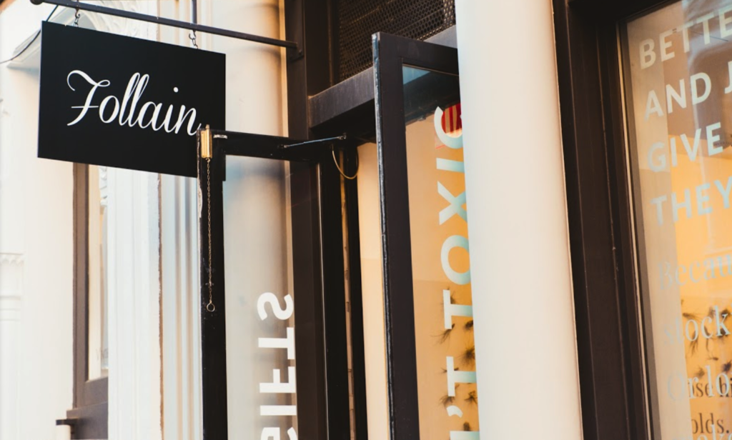FOLLAIN NYC: In-Store Visit
